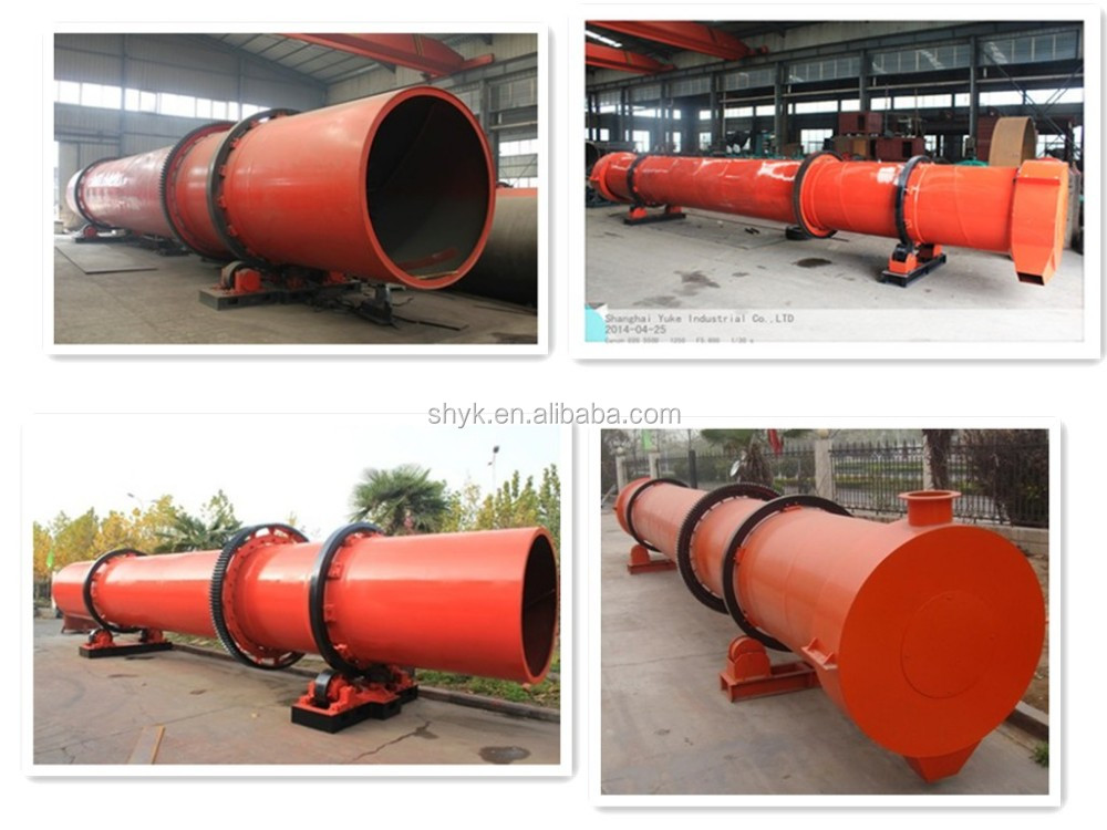 Woodchips / sawdust rotary dryer for sale