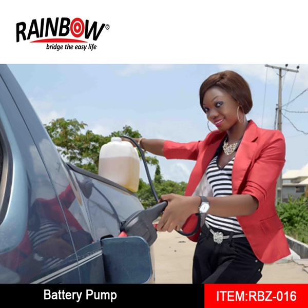RBZ-016 Battery Operated Liquid Transfer Pump, Perfect to Pump Gas or Water!