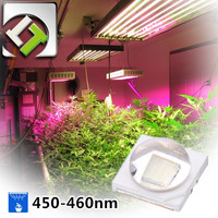 Taiwan Luster High Quality 3535 3W Plant Grow Lights Blue 450nm 460nm LED