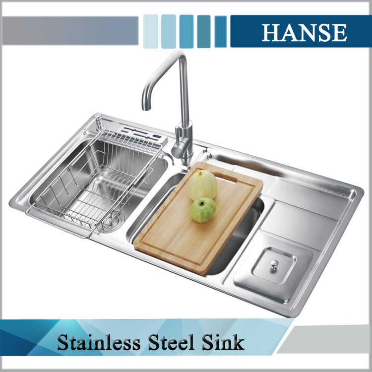 110cm stainless steel sink inserts,2 bowl stainless steel sink with drainer