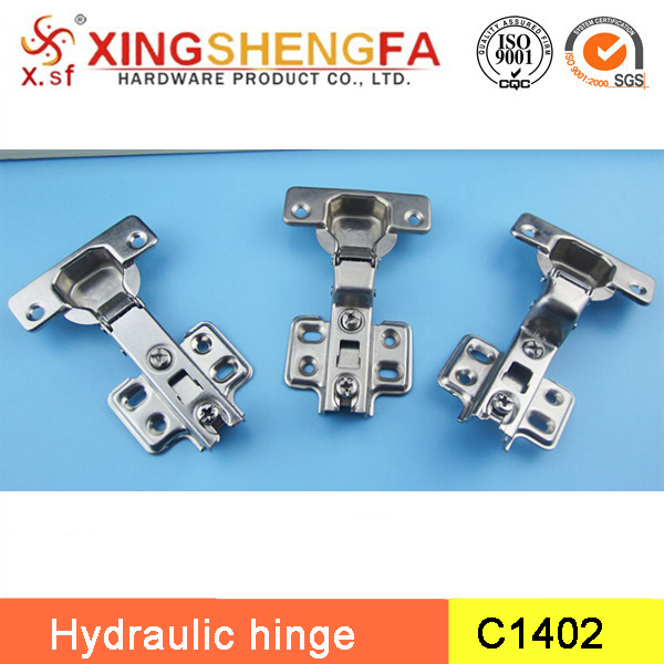 Furniture hinge type slide on soft closing hinges with 35mm cup