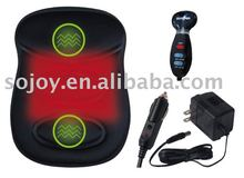 massager BACK SUPPORTwith heat and handheld massaging controller