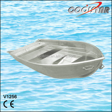 1.2mm thickness V-bottom 12ft small aluminum boat for sale