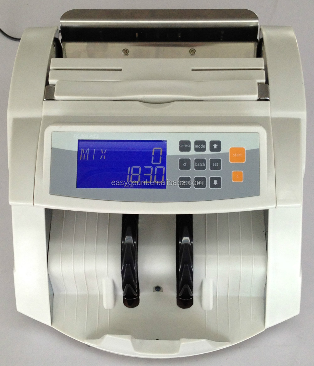 EC800 Automatic Counterfeit Money Counting Machine For Worldwide