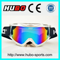 Fashion custom adjustable strap motorbike protective goggles motocross