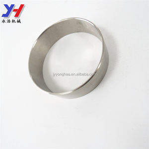 Small Baffle ring for fitness equipment, Cnc process metal ring