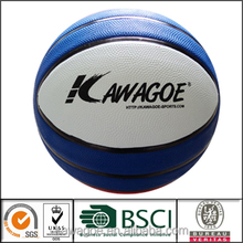 official size 1 rubber basketball