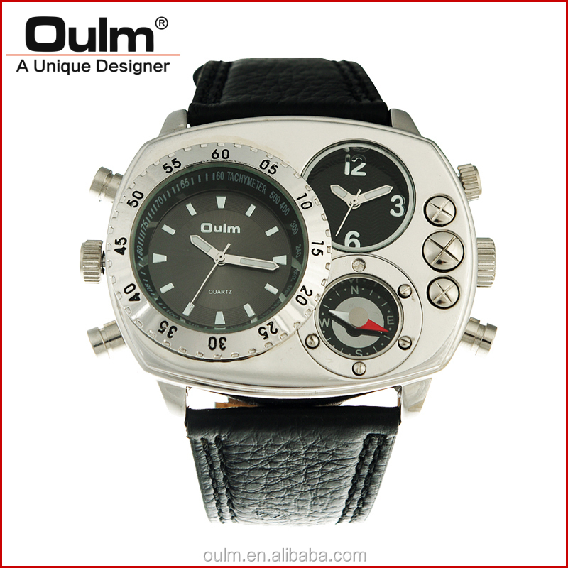 brand watches wholesalers, decorate wrist watch, dual time digit watch