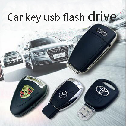 Wholesale Car Key Shape USB Stick Memory Flash Drive