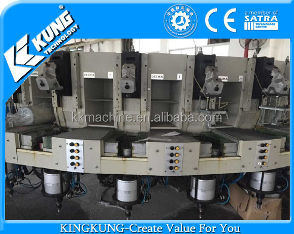Plastic Injection Machine for Making PVC Shoe Soles DESMA brand second machine