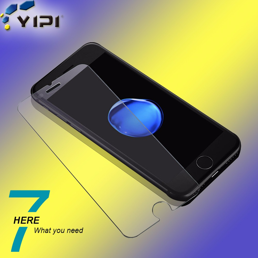 2.5D 9H 0.3mm Low Price China Mobile Phone Screen Protector For Iphone 7 Tempered Glass/