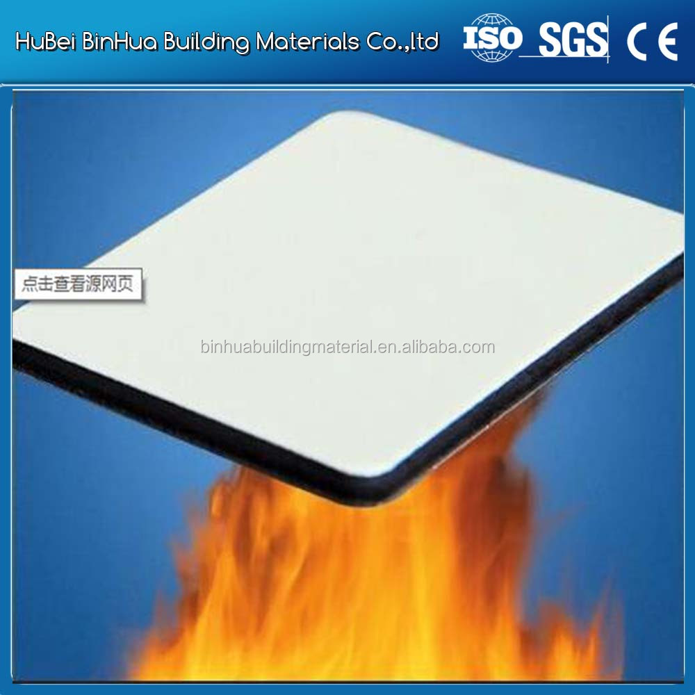 Solid color PVDF coating aluminum composite panel for exterior wall cladding