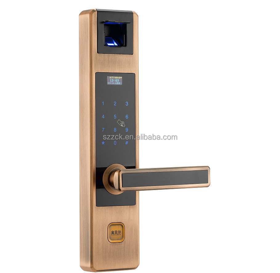 Supply Newest OEM Cheap biometric fingerprint security door lock