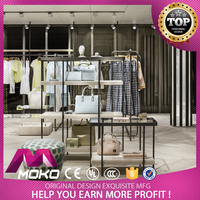 New Fashion Ladies Clothes Retail Interior Shop Design