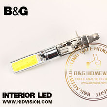 H1 12V 10W H1 COB LED Car Fog Light Bulbs 6000K LED Auto Car Driving Lamp H1 Running Lights For Auto