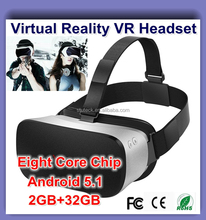 2016 Latest product Blue Film Sex Video And Games Virtual Reality All-In-One Box Google Android 5.1 VR 3D