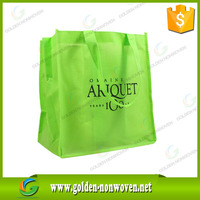 cheap 100% new/recyclable whole bags printing heat sealed/ultrasonic machine made pp non woven bag