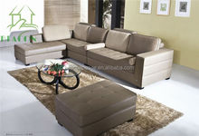 used High quality leather home sofa