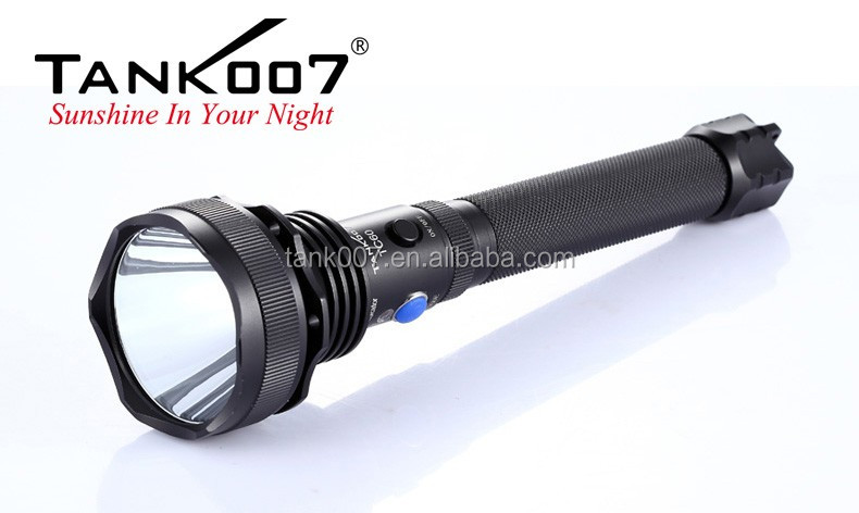 Big size most powerful C ree XM-L <strong>U2</strong> max 1000 LM strong flashlight searching led flashlight TC60