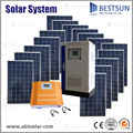 BESTSUN 15000W Factory directly sale poly solar power system home per watt polycrystalline home system 250w poly solar panel