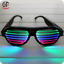 As Seen On Tv 2016 Direct Factory Crazy Party Favors Sound Activated Shutter 2016 Led Sunglasses