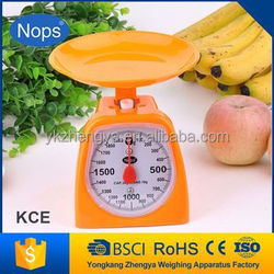 Nops brand machanical nutrition scale fruit and vegetable scale
