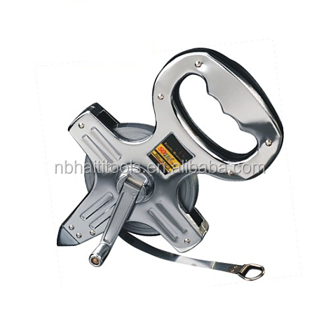 Stainless steel frame portable tape B-18/ 30m/50m.100m