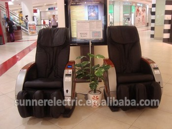 vending massage chair with ICT bill acceptor