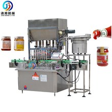 Multi function glass jar/jam honey filling machine <strong>fruit</strong> strawberry sauce bottling machine