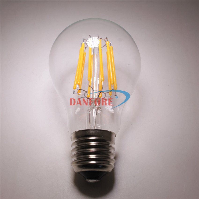 8W 10W E27 110V 220V 24V Vintage led bulb lamp filament led light