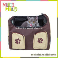 600D Oxford Fabric Dog Store Booster Carrier Car Seat for Cats and Dogs