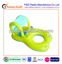 Customized Kids & Mom design inflatable baby pool float