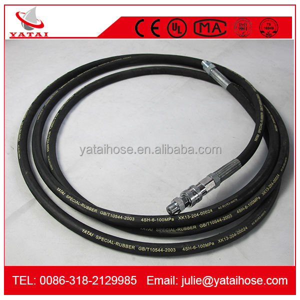 Hengshui YATAI Hose Acid and Alkali Resistant Rubber Hydraulic Hose