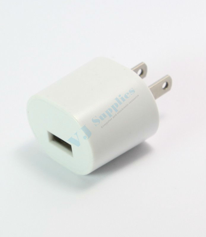 AC USB Travel Charger For Nano iPhone 3Gs 4 4S 5 iTouch HTC S3 Note 2 Cell Phone