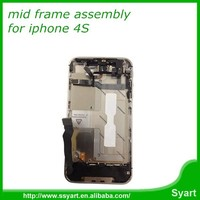 wholesale full mid middle housing frame chasis bezel assembly for iphone 4s