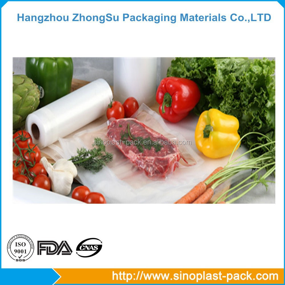 Food pack plastic bag packaging jumbo roll stretch film