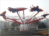 interesting amusement park equipment rides self-control plane