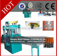 Hydraulic or machanical particle shape BBQ charcoal Compacting machine for shisha powder briquetting