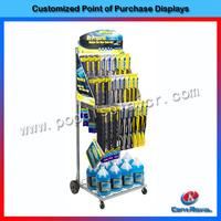 multifunctional metal display rack for car accessories