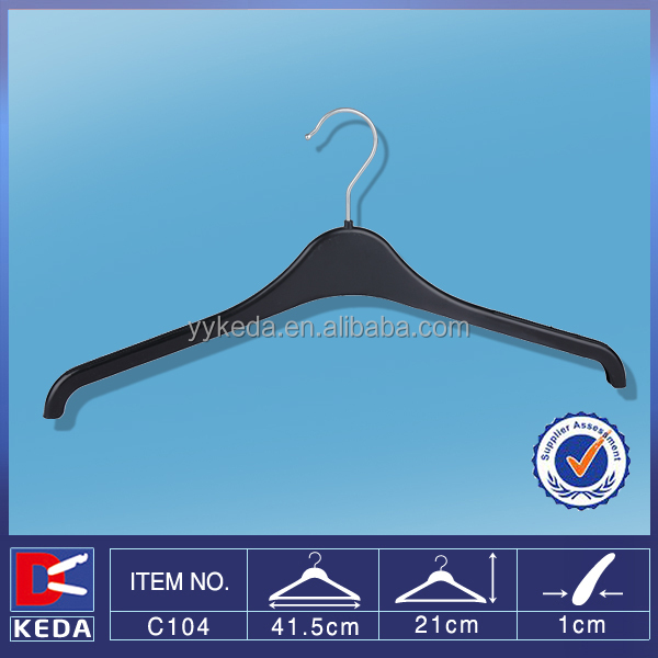black plastic hangersuit hangercoat hanger