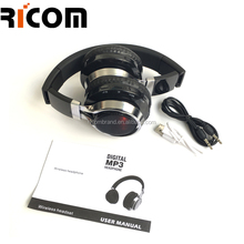 bluetooth headset with sd slot hunting bluetooth headset with mp3 fm radio player