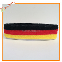 Brand logo embroidery sport headband promotion gift headband with logo