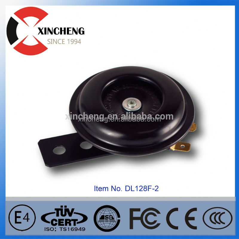 china motorcycle/car /truck electric 12v 110db single-tone snail horn loud sound level manufactory horn sooes