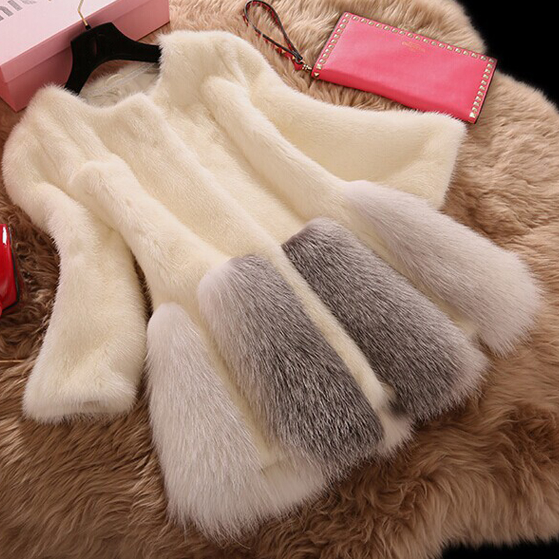 Tongxiang genuine mink fur long fur coat/outer garment lady