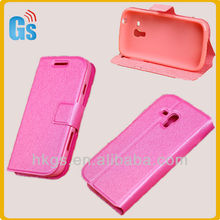 Wholesale Phone Leather Flip Case for Samsung Galaxy Core i8262