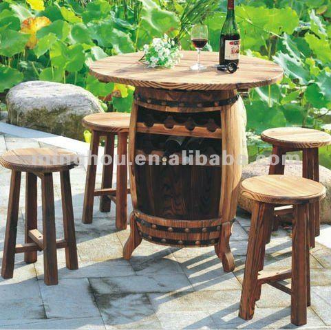 Werkzeuge Maschinen: Weinfass tisch