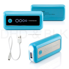 Mobile power 5600Ah with flashlight power bank protable for travelling