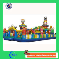 2015 Hot sale giant Inflatable Slide Fun City For China Manufacturers
