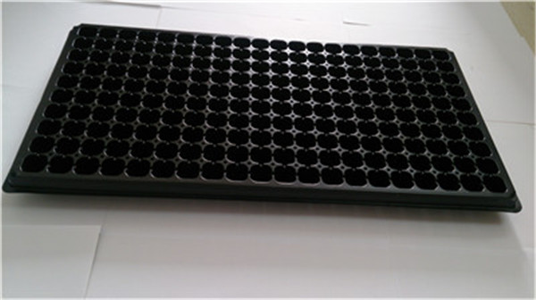 Plastic round plastic serving tray with low price