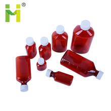 PET Food Grade Material Thick Plastic Liquid Oval Bottle